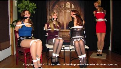 The Binder's Apprentice: Part 3 (WMV) - Cadence Lux, Laci Star, Autumn Bodell & Kim