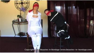 Bondage Contest 3 (WMV) - Audrey & Amanda