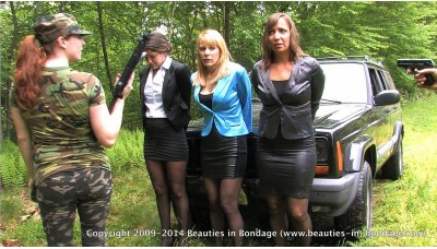 Colombian Ambush Remastered (MP4) - Jasmine St James, Amber Wells, Lily Anna & Shauna Ryanne