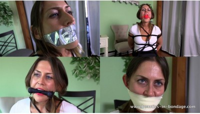 Gag to Gag (MP4) - Sinthia Bee