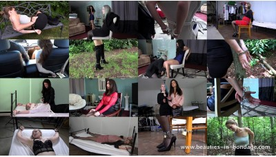 Girls in Handcuffs: Volume 10 (MP4) - 60 minutes