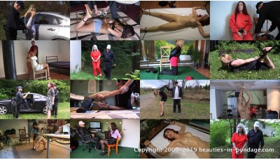 Girls in Handcuffs Compilation: Volume 8 (MP4) - 54 minutes