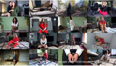 Girls in Handcuffs: Volume 9 (MP4) - 63 minutes