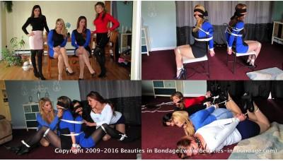 The Heist (WMV) - Carissa Montgomery, Hannah Perez, Candle Boxxx & Autumn Bodell