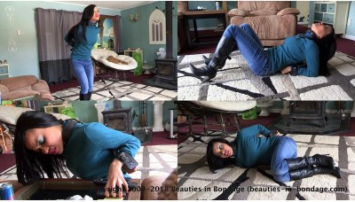 In The Mood To Be Restrained (MP4) - Monica Jade