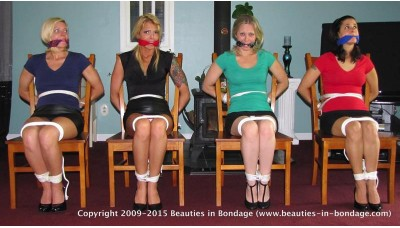 Lined Up For Transport (WMV) - Niki Lee Young, Jessica, Dee & Jamie Daniels