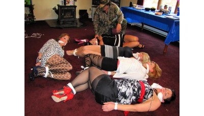 The Mercenary enhanced (WMV) - Lily Anna, Amber Wells, Rachael, Lola Lynn & Carissa Montgomery