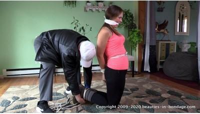 Rachel Adams is Restrained (MP4) - Rachel Adams