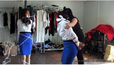 The Smuggling Stewardesses enhanced (MP4) - Mai Ly, Tia & Kelli