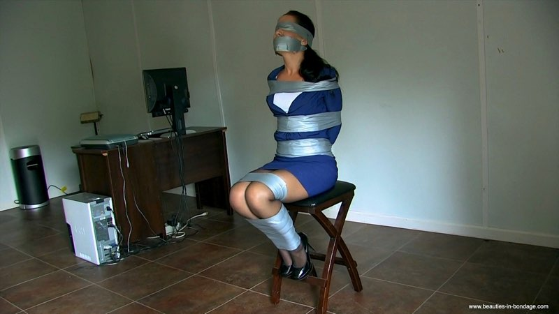 Tilly Taped & Blindfolded enhanced (MP4) - Tilly McReese